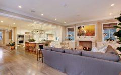 Modern Living Room and Kitchen in Open Floor