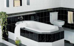 Modern Minimalist Black White Bathroom Ideas