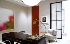 Modern Sleek Home Office Asian Inspired Design
