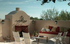 Modern Spanish Colonial Courtyard Sitting Area