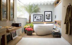 Modern Tropical Bathroom Design Ideas
