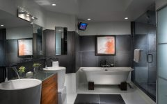 Modern and Futuristic Bathroom