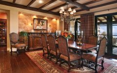New European Dining Room in Country Style
