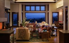 Open Space Craftsman Style Living Room