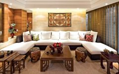 Oriental Living Room Sofa