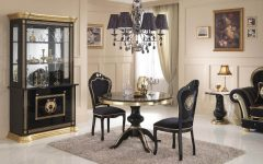 Private Italian Dining Room Round Table
