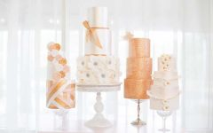 10 Modern Mixed Pattern Wedding Cakes