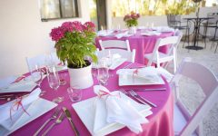 15 Beauty Pink and Green Wedding Centerpieces