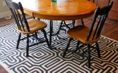Round Kitchen Table 4 Piece Sets