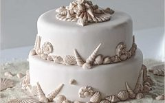 Ideas of Scrumptious Seaside Wedding Cakes