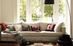 Simple Living Room Textiles