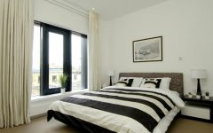 Simple Minimalist Black White Bedroom 2014