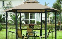 Simple Minimalist Garden Gazebo Design Ideas
