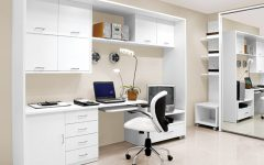 Simple Minimalist Home Office Furniture Ideas