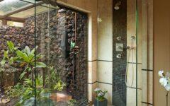 Simple Minimalist Tropical Bathroom Ideas