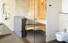 Simple Sauna Room Design Ideas
