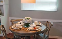 Small Coastal Dining Room Table