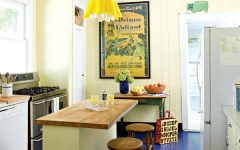 Small Kitchen Interior Coloring Ideas