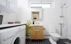 Small Laundry Toilet Designs