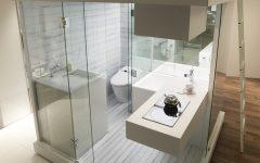 Small Laundry Toilet Modern