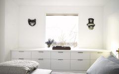 Small Modern Bedroom Storage