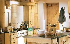 Small Wooden Kitchen Interior Ideas