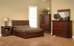 Bedroom Furniture from Exotic Wood