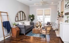 Spacious Craftsman Style Apartment Living Room