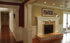 Stately Fireplace in Craftsman Style Home