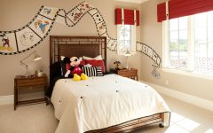 Traditional Bedroom Decor In Mickey Mouse Theme
