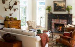 Traditional Brick Fireplace Design Ideas
