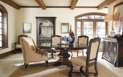 Traditional European Dining Room Interior Decor