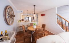 Traditional and Rustic Dining Room for Apartment