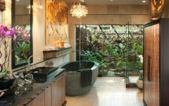 Tropical Bathroom Interior Ideas