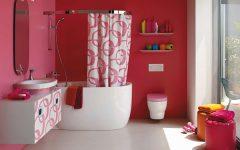 Unique Bathroom Colorful Design Ideas