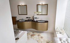 Unique Bathroom in Modern Nuance