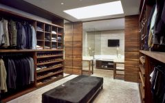 Well Organized Walk in Closets Ideas