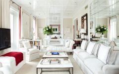 White Narrow Living Room 2014