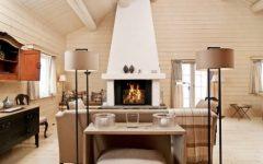 Wood House Interior Living Room Design
