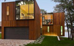 Wood House Modern Design Ideas