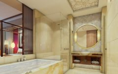 Wooden Bathroom Flooring Ideas