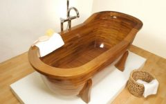 Wooden Bathroom Furniture Design Ideas