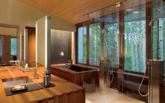 Wooden Bathroom Interior Ideas