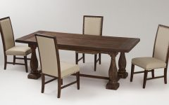 Wooden European Style Dining Room Furniture Set