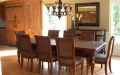 Wooden Italian Dining Room Set in Modern Look