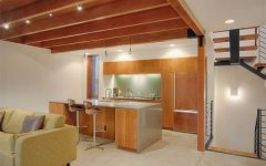Wooden Kitchen Ceiling