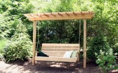 Pergola Porch Swings With Stand