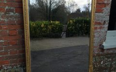 Antique Gilt Mirror