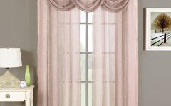 Mauve Sheer Curtains