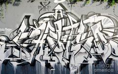 Abstract Graffiti Wall Art
